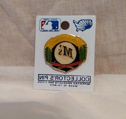 Seattle Mariners MLB Wreath Logo w Baseball and Crossed Bats