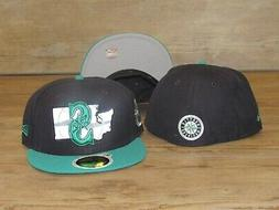 Seattle Mariners NE 59Fifty Reflective State Fitted Hat Cap