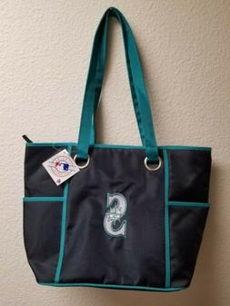 Seattle Mariners NEW Carryall DELUXE Large Tote Bag Purse Li