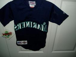 Seattle Mariners NWT AL West buttondown or pullover jersey l