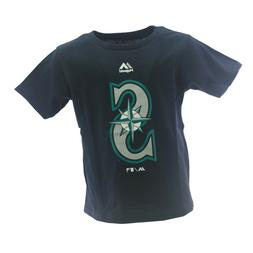 Seattle Mariners Official MLB Majestic Apparel Baby Infant S