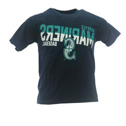 Seattle Mariners Official MLB Apparel Kids Youth Size T-Shir