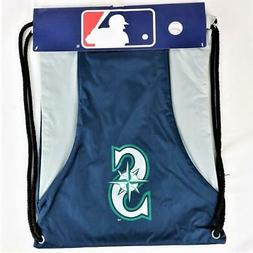 "Seattle Mariners Officially Licensed MLB Back Sack 18"" x 13"""