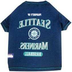 Seattle Mariners Officially Licensed MLB Dog Pet Tee Shirt,