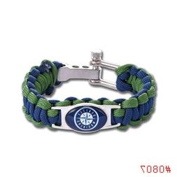 Seattle Mariners Paracord Bracelet MLB Baseball Fast Ship US