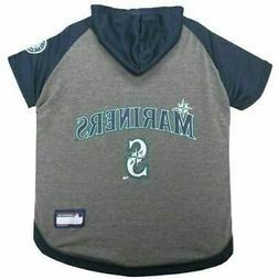 Seattle Mariners Pet Hoodie T-Shirt