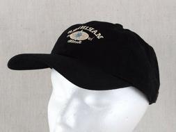 Seattle Mariners Press Box Suite Baseball Hat Cap Black Cord