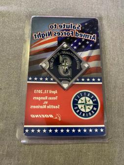 SEATTLE MARINERS SALUTE TO ARMED FORCES NIGHT CHALLENGE COIN