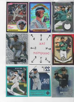 Seattle Mariners * SERIAL #'d Rookies Autos Jerseys * ALL CA