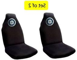 Seattle Mariners Set of 2 Premium Embroidered Auto Seat Cove