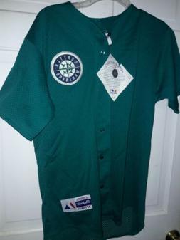 Seattle Mariners shirt MLB Majestic athletic baseball unifor