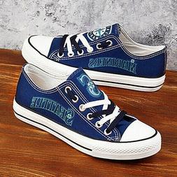 Seattle Mariners Shoes Unisex Baseball Shoes MLB shoes Marin