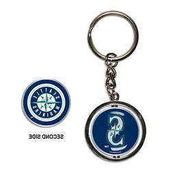 seattle mariners spinner keychain new