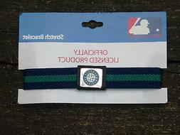 SEATTLE MARINERS   Stretch Bracelet  NIP  by Peter David
