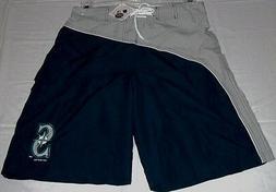 Seattle Mariners Swim Trunks Shorts Cargo Style Bathing Suit