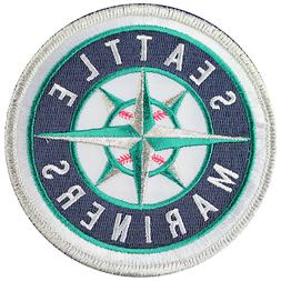 Seattle Mariners Team Sleeve Round Jersey Patch OFFICIAL MLB