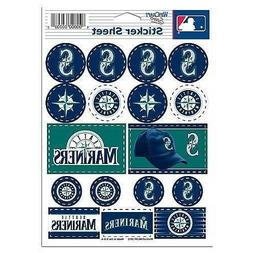 Seattle Mariners Vinyl Die-Cut Sticker Set / Decal Sheet *Fr