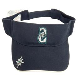 Seattle Mariners Visor Hat Cap Strapback One Size Unisex Men