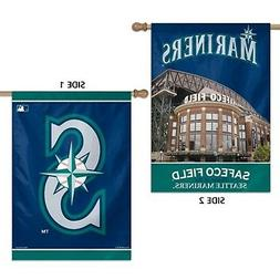 Seattle Mariners WC Premium 2-sided 28x40 Banner Outdoor Hou