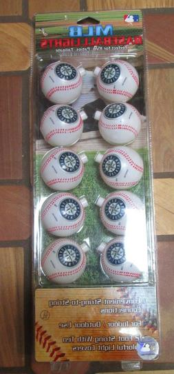 Seattle Mariners White Baseball Lights Indoor or Outdoor 12