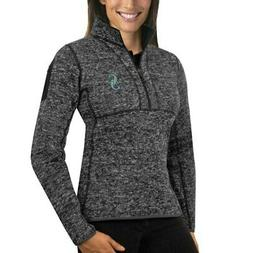 Seattle Mariners Antigua Women's Fortune Half-Zip Pullover S