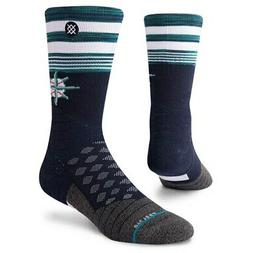 Seattle Mariners Stance Youth Diamond Pro Crew Socks