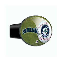 Seattle MLB Baseball Mariners 3-In-1 Hitch Cover Auto Emblem