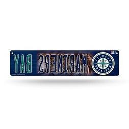 "Seattle MLB Baseball Mariners Bay 16"" Street Sign Fan Wall D"