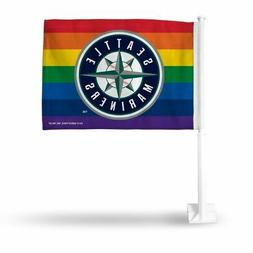 Seattle MLB Baseball Mariners PRIDE - 11X14 Window Mount 2-S