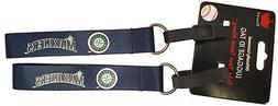 Set of 2 Seattle Mariners Officially Licensed Luggage Tag Ke