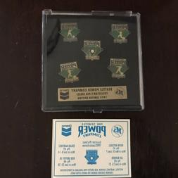 SET OF 5 SEATTLE MARINERS1992 COLLECTOR PINS LIMITED EDITION