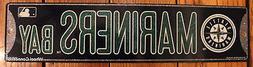 Street Sign Seattle Mariners Bay MLB Lic. Baseball full colo