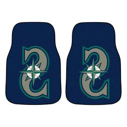 Texas Rangers MLB Car Mats 2-PC Front