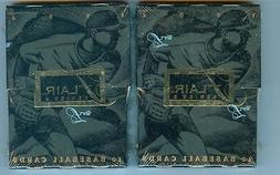 TWO 1994 FLAIR SERIES II SEALED PACKS  FROM BOX ALEX RODRIGU
