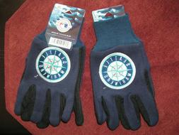 TWO  PAIR OF SEATTLE MARINERS, SPORT UTILITY GLOVES FROM FOR