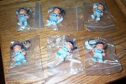 Vintage lot 6 lil' Brat Seattle Mariners  key chains