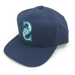 Vintage Seattle Mariners Outdoor Cap Co Snapback Hat Youth A
