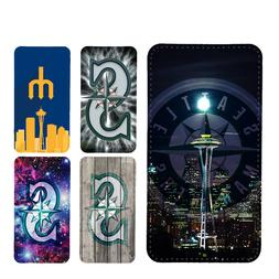 wallet case Seattle Mariners galaxy S7 S8 S8plus S9 S9plus S