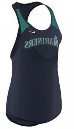 Nike Women's Seattle Mariners Legend Wordmark Tank Top Jer