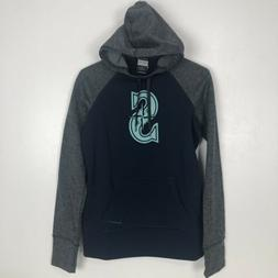 Nike Womens Seattle Mariners Small Hoodie Baseball Therma-Fi