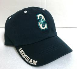 """YOUTH size SEATTLE MARINERS HAT unstructured relaxed fit """"da"""